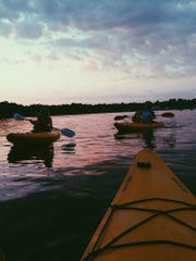 Kayak torchlight tours are hosted by Pensacola Paddlesport