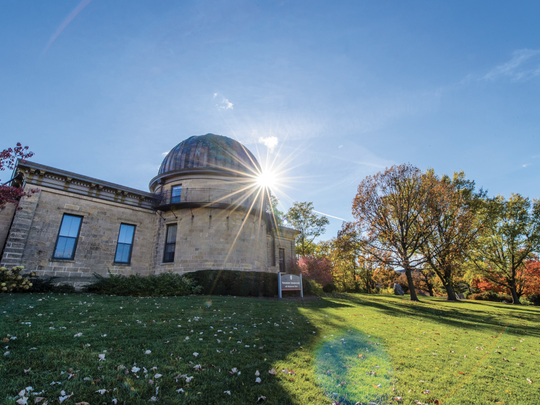The Washburn Observatory at the University of Wisconsin-Madison. Its first director, James Watson, thought he discovered a new planet during the solar eclipse of 1878.