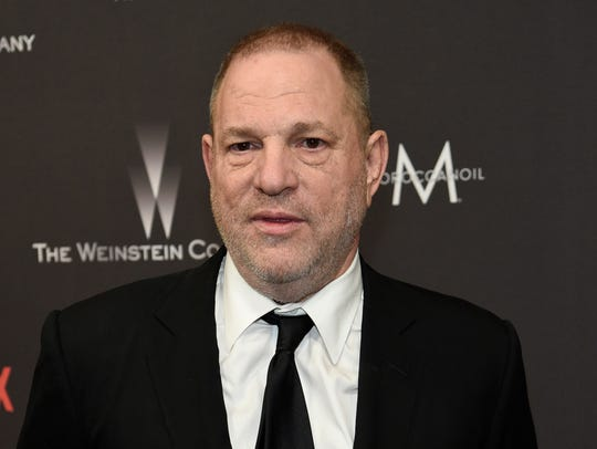 Harvey Weinstein in Beverly Hills in January 2017. He is expected to turn himself in to authorities in New York on Friday.