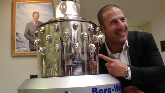 Tony Kanaan has raced well on ovals but not qualified as well on road courses