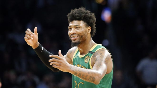Celtics guard Marcus Smart says he has been cleared by medical officials after testing positive for the new coronavirus earlier this month. In a message posted late Sunday, March 29, 2020, on Twitter, Smart says he was informed of the news by the Massachusetts Department of Health. He thanked everyone for their support. Stay safe and stay together apart! Smart wrote.