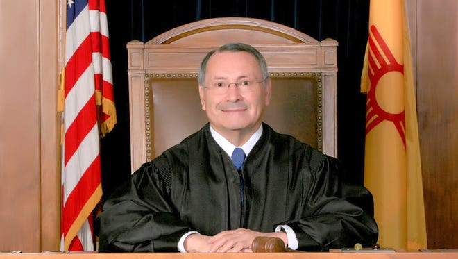 Retired Justice of the New Mexico Supreme Court Judge Patricio M. Serna will deliver the keynote speech at the spring commencement ceremony on Friday, May 13 at 3:00 p.m. in Ben Altamirano Field.