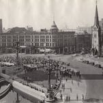 Retro Indy: The World Series on Monument Circle