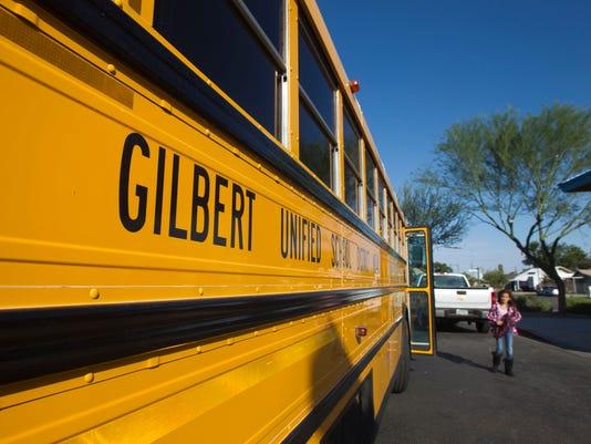 Gilbert schools bus