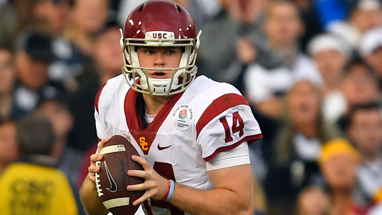 Sam Darnold S Pro Day At Usc Draws Jets Top Brass As Qb