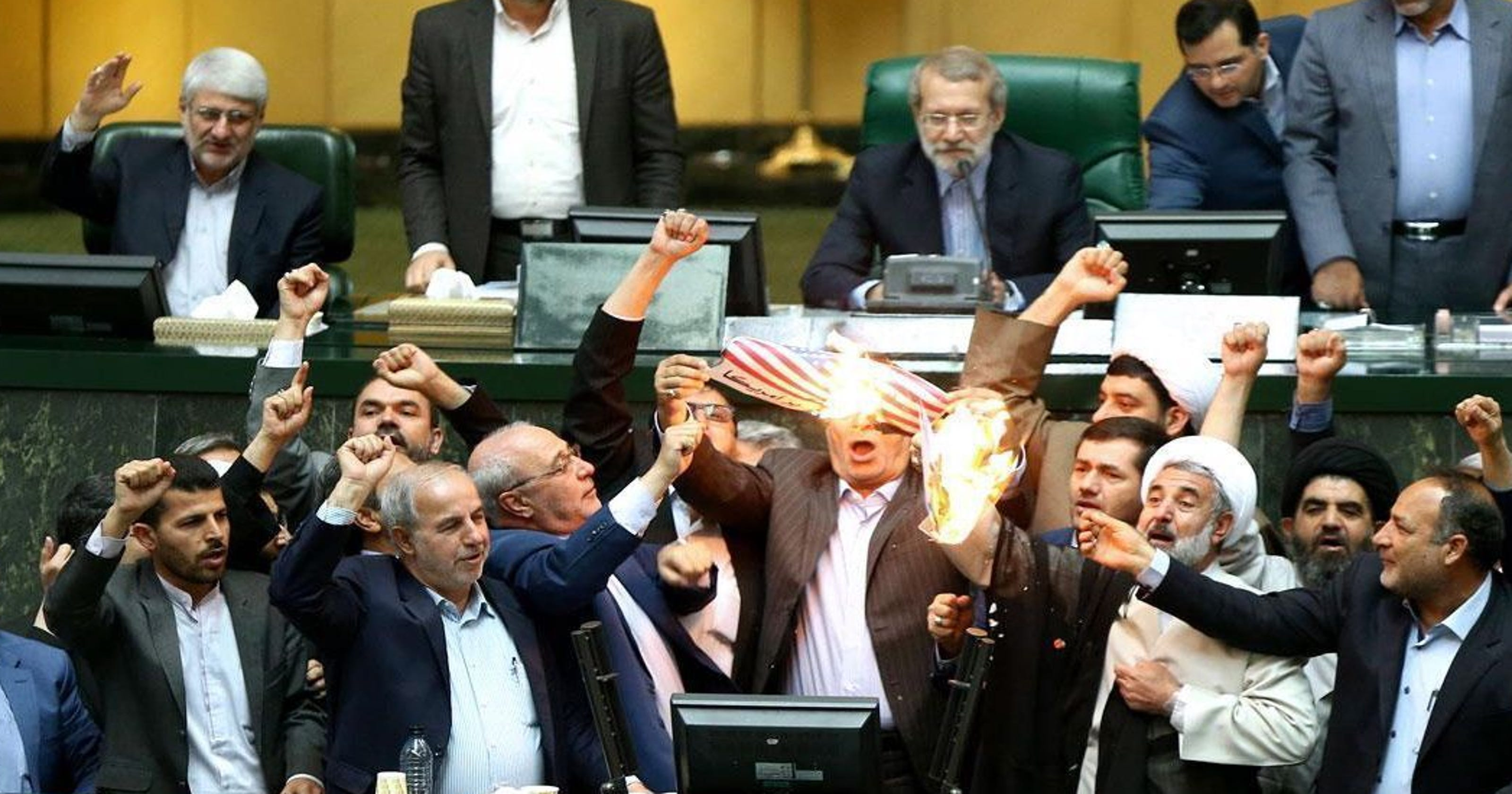Iran nuclear deal: Anger in Tehran, shouts of death to