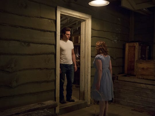 "Colt Prattes and Abigail Breslin star as Johnny and Baby in the remake of ""Dirty Dancing."" The scene in this shot was filmed at Kanuga in Hendersonville. Tune in to ABC at 8 p.m. May 24 to catch the premiere of the musical re-imagining."