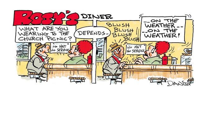 Charlie Daniel cartoon for Oct. 16, 2016