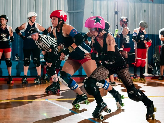 The Springfield Roller Girls are holding the Tri-Quidditch