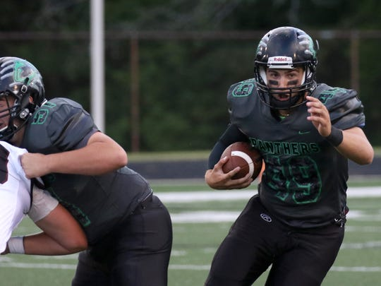 Greendale's Sean Sanchez has led the Panthers to a 2-0 start.