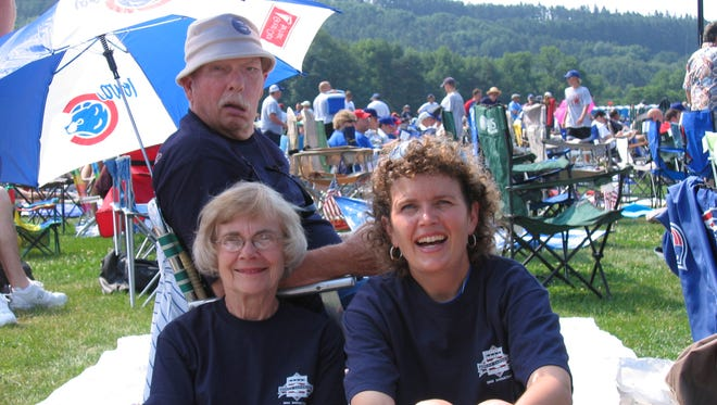 The Haag family in Cooperstown, N.Y., in 2005.