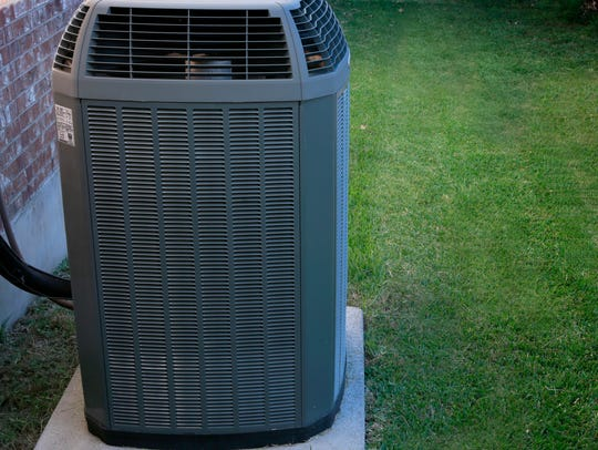 Air conditioning units like this one likely use Opteon.