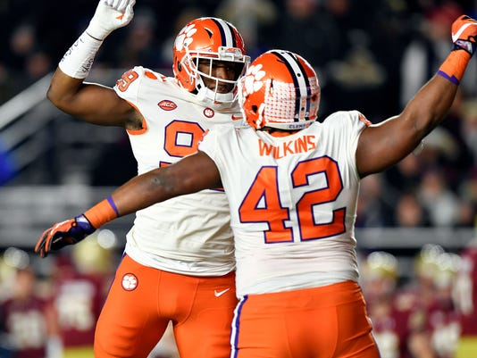 USP NCAA FOOTBALL: CLEMSON AT BOSTON COLLEGE S FBC BOC CLE USA MA
