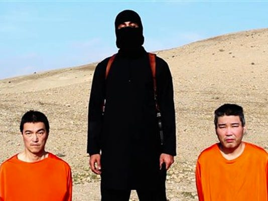 Japan-Islamic State-Hostages