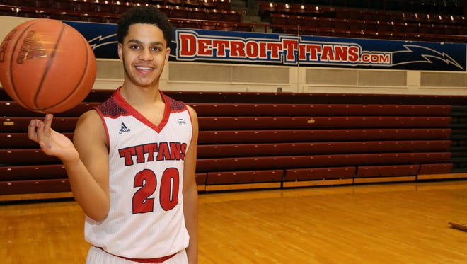 Jacob Joubert will sit out his first year at UDM as a red-shirt player while he recovers from surgery on his left shoulder.