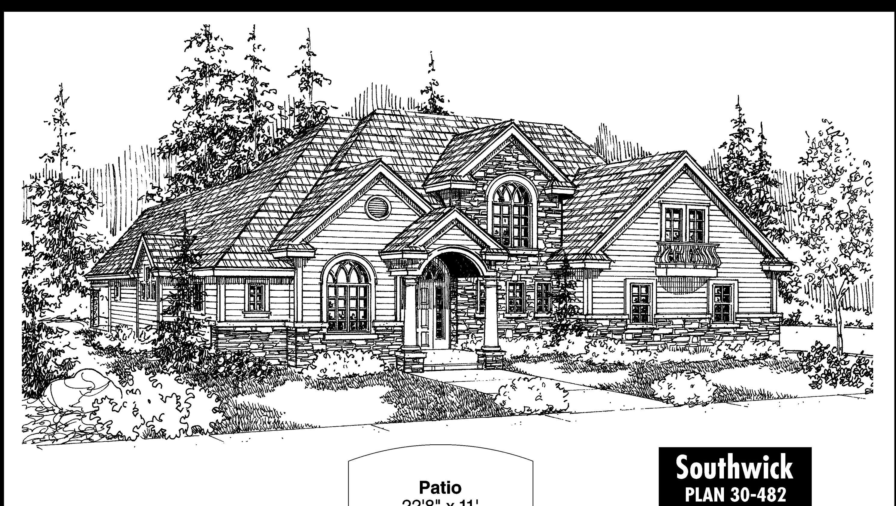 Southwick House Plan