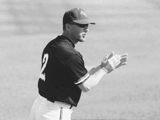 Britt Bonneau coaches his Abilene Christian University