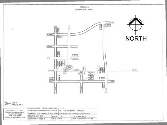 Center Traffic Control Plan