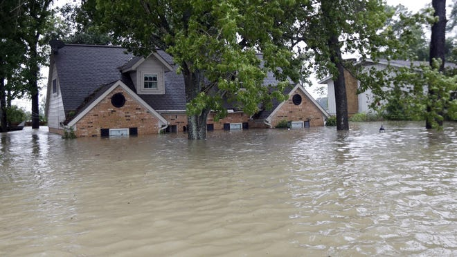 The National Flood Insurance Program has resulted in many flood-prone homes being repeatedly rebuilt.
