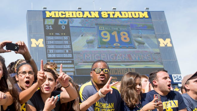 Paramus will play at Michigan Stadium on Sept. 2 and the Wolverines will have their home opener the following day against Hawaii.
