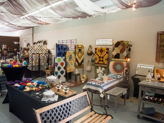 Halo Handmade, 421 N. Eighth St., features more than one dozen local artists and their creations, as seen June 20, 2018.