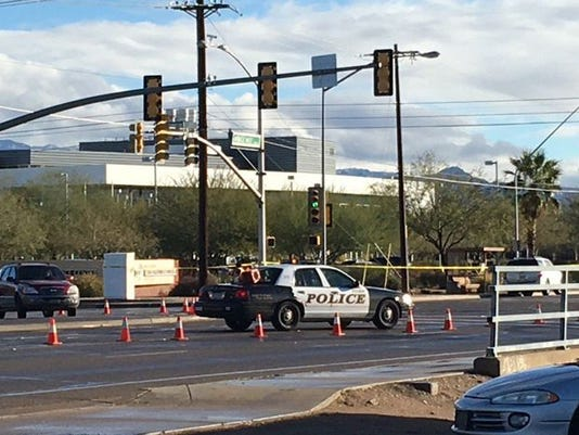 Tucson police standoff