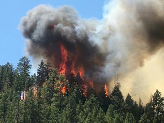 Blue Ridge Wildfire
