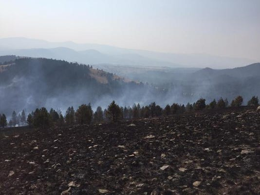 Holmes Gulch Fire