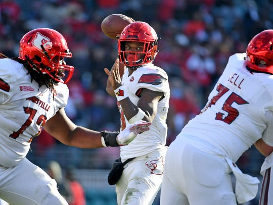 One area of concern with Lamar Jackson is his tendency