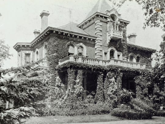Historic photo of Wilkins mansion