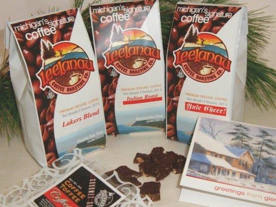 The Basic Treat gift package from Leelanau Coffee Roasting