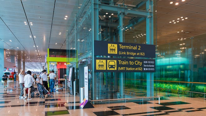 Singapore's Changi Airport earns rave reviews from frequent travelers for its amenities and ease of navigation.
