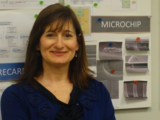Cheryl Blanchard, CEO of Microchips Biotech.
