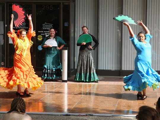 Flamenco dancers at the 2015 Salinas Valley Food & Wine Festival