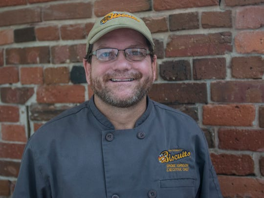 "Mark ""Smoke"" Johnson, executive chef for the Montgomery"