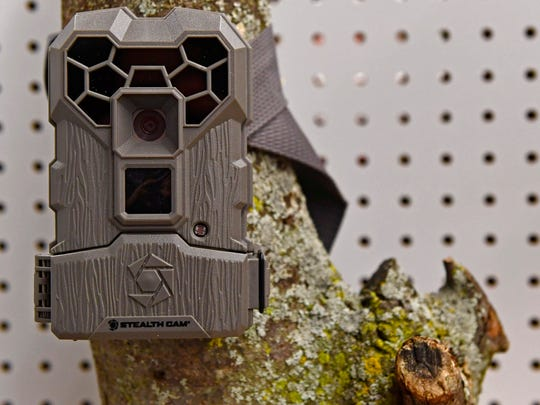 The store carries different kinds of trail cameras.