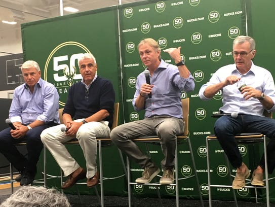 Milwaukee Bucks owners met with the media and expressed