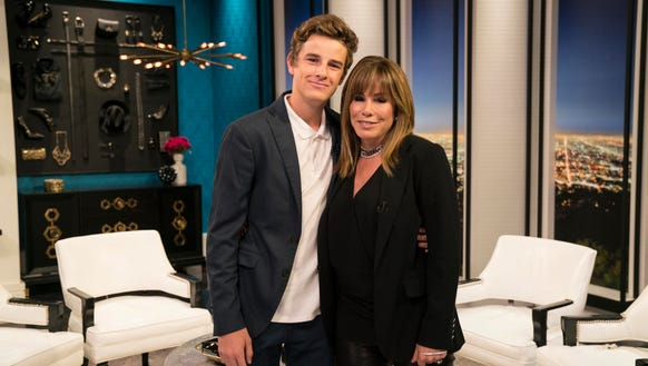 Melissa Rivers with her son, Cooper Endicott.