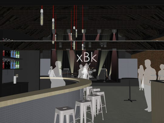 A rendering of xBK, a newly-announced arts and music
