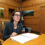 Gov. Kate Brown, Hispanic lawmakers vow to defend Latinos