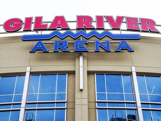 Gila River Arena se localiza en el Distrito de Entretenimiento