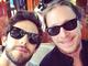 Thomas Rhett and Jaren Johnston take a selfie together.