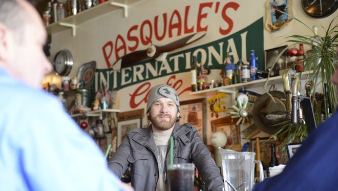 Dustin Lemke wants to keep what people like about Pasquale's International Cafe in De Pere while upgrading its systems.