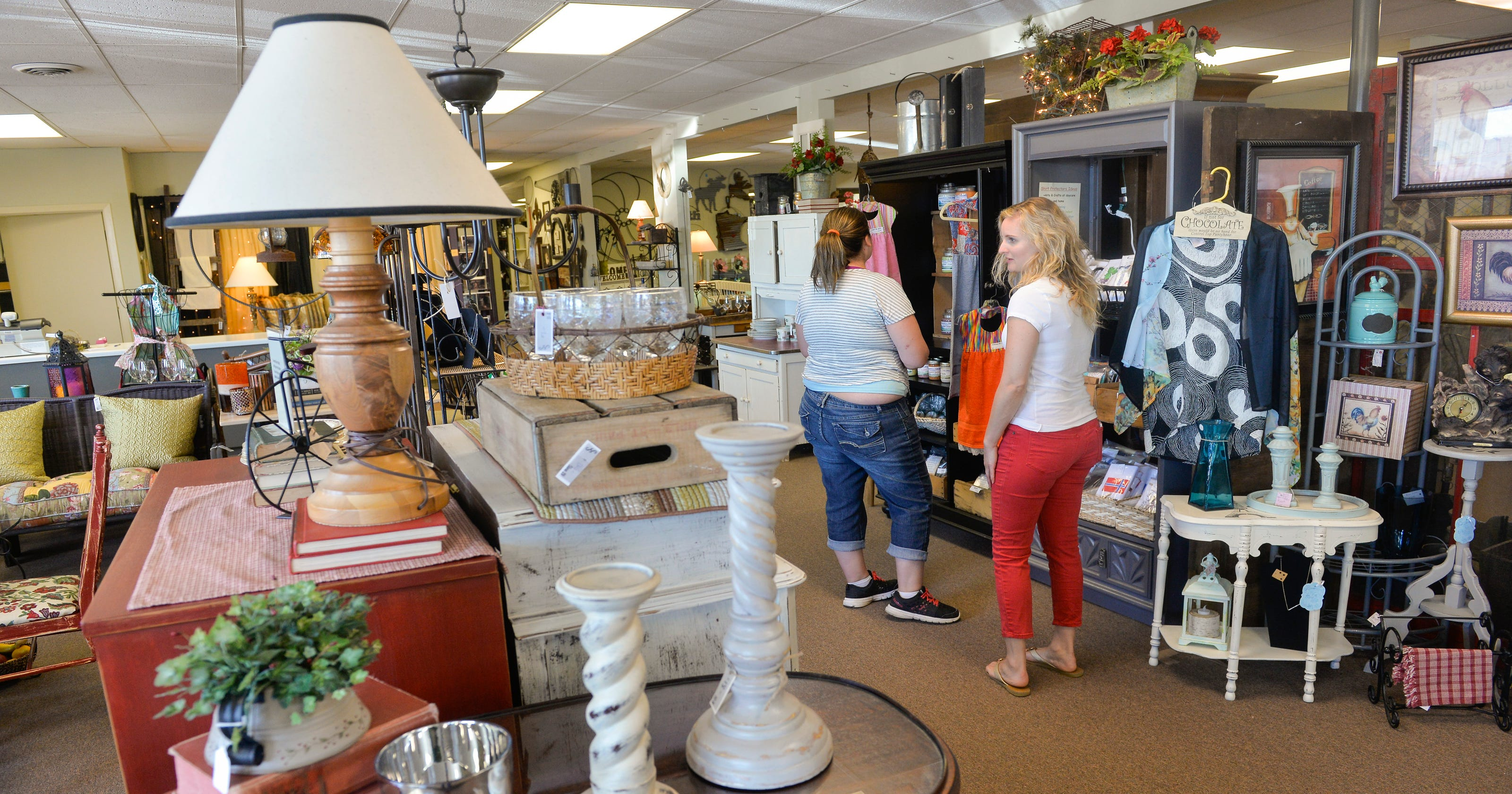 Salvage Sisters is a \'happy place\' for antique lovers