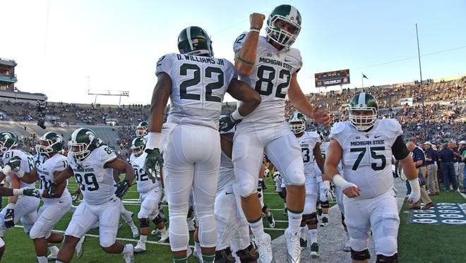 The Spartans will host Central Michigan in 2018 and Western Michigan in 2019 in two of their future nonconference games.