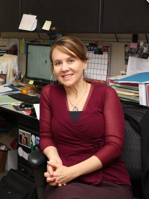 Megan Pell, an instructional coach at the University of Delaware's Center for Disability Studies