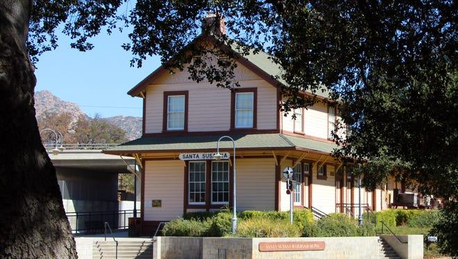 The Santa Susana Railroad Depot Museum has been expanded.