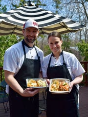 Collin and Sara Doherty serve creative renditions of