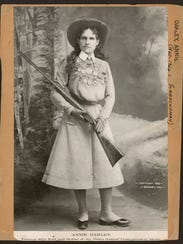 Annie Oakley, a native of Ohio, like author Deanne