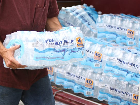 Buying bottled water in bulk is almost always cheaper than buying individual bottles.